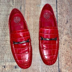 Vince Camuto | Red Perenna Collapsible Loafer